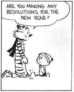Photo: New Year's Resolutions