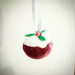Photo: Christmas Pudding Baubles