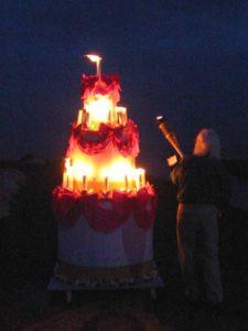 Photo: Birthday Cake for Pittenweem Festival